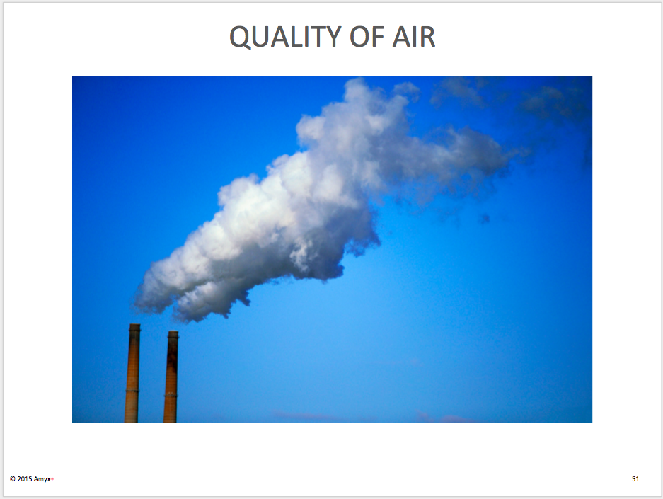 Quality of Air