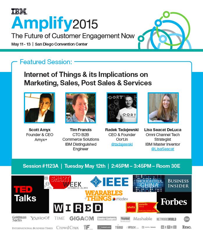 Scott Amyx Speaking at IBM Amplify