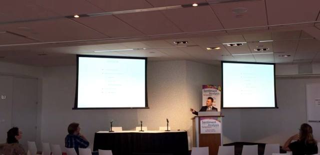 Scott Amyx Speaking at Sentiment Analysis Symposium conference wearables IoT