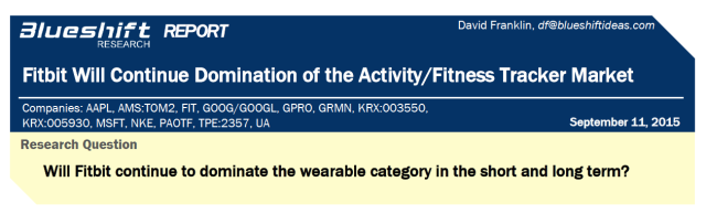 Fitbit Research