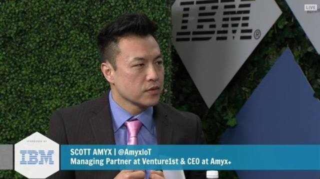 Scott Amyx Speaking on theCUBE at IBM InterConnect