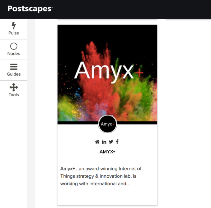 Amyx+ Featured on Postscapes
