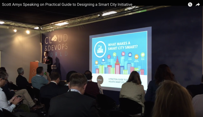 Scott Amyx Speaking on Practical Guide to Designing a Smart City