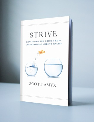 """Strive""​ by Scott Amyx. Vote for Your Favorite Book Cover Design"